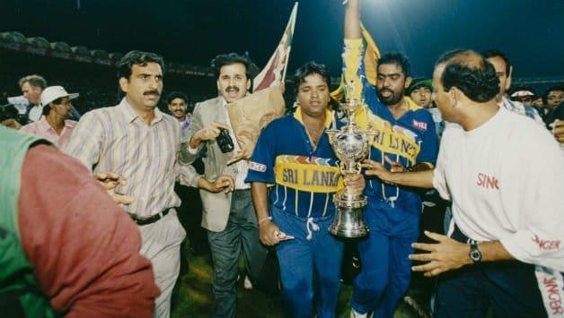 Sri Lanka won 1996 World Cup edition
