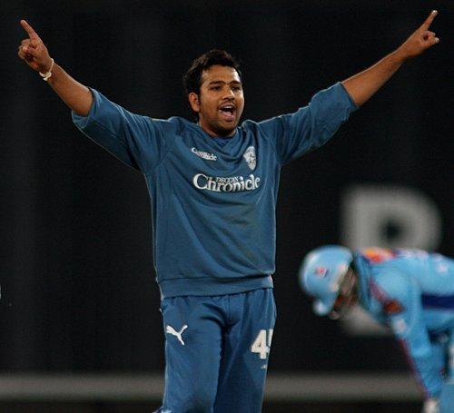 Sharma took an IPL hattrick in 2009 vs MI