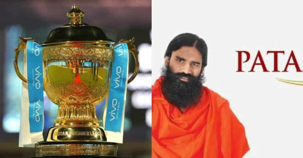 Patanjali IPL title sponsorship