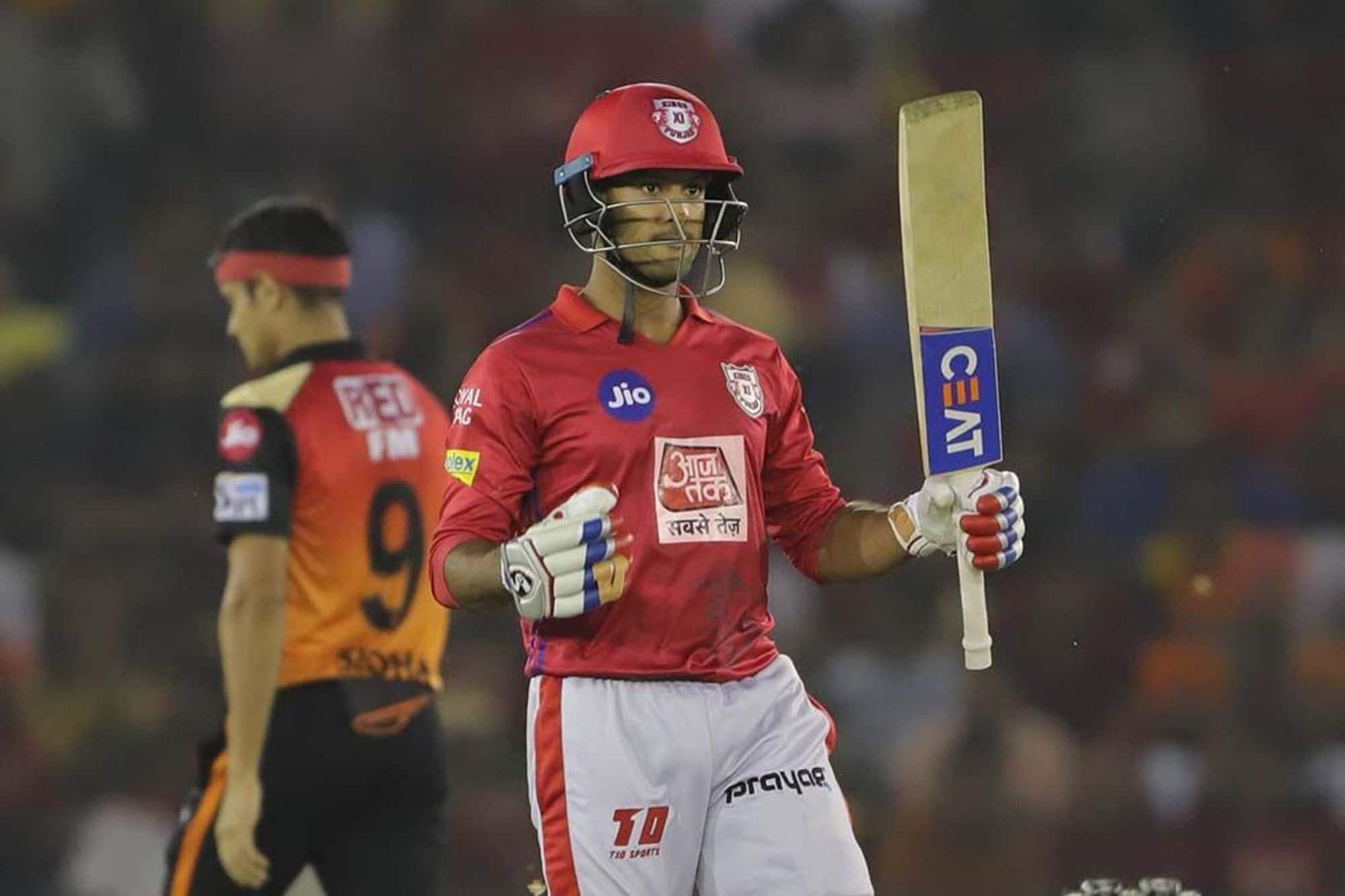 Mayank Agarwal KXIP IPL