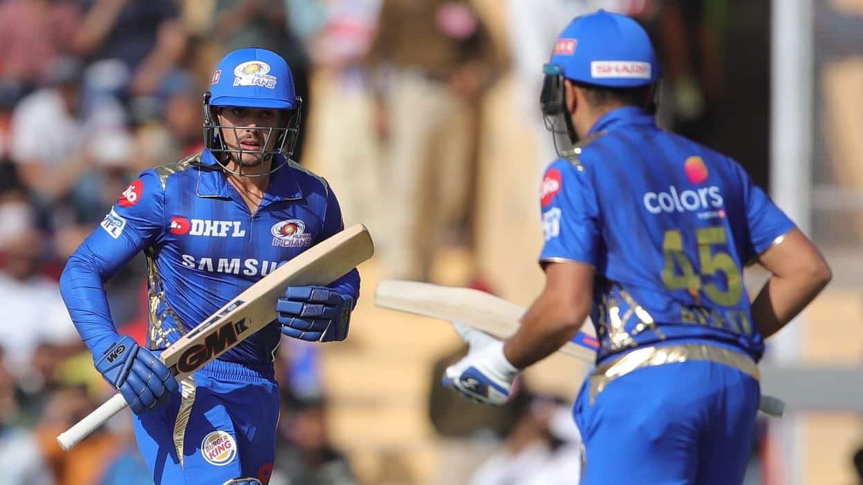 Rohit Sharma De Kock IPL 2020