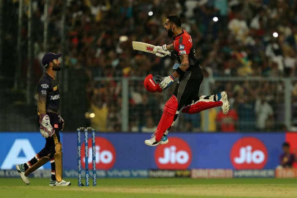 Virat Kohli vs KKR in IPL 2019