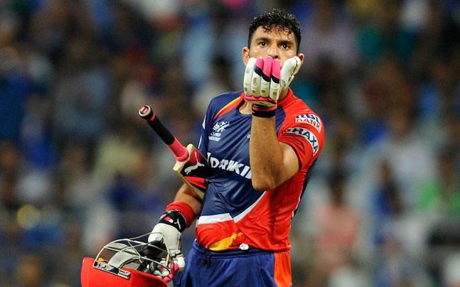 Yuvraj Singh got an auction price of INR 16 Crores in IPL 2015