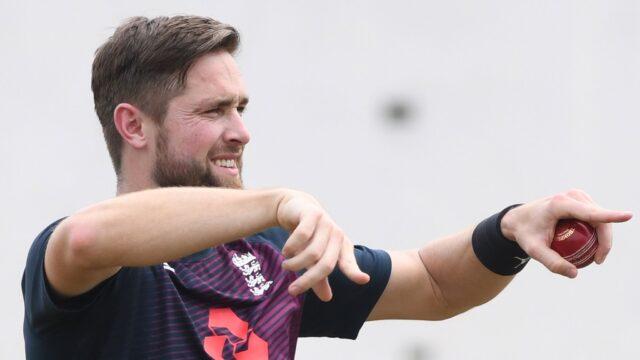 Chris Woakes England