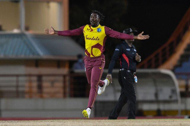 Hayden Walsh West Indies